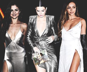 silver dresses, kendall jenner, and jade thirlwall image
