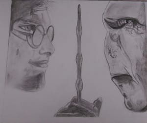 disegno, film, and harry potter image