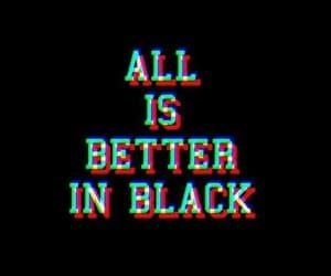 черный and black image