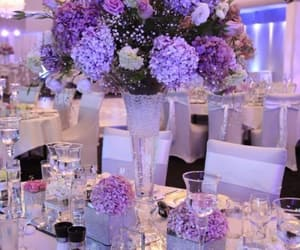 flowers, decoration, and purple image