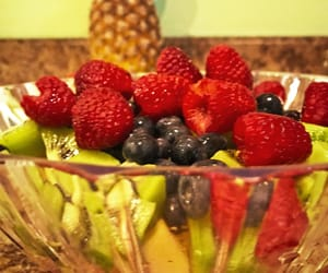 food, tasty, and fruit image