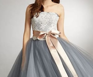 ball gown, Full Skirt, and gown image