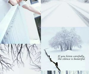 snow, wallpaper, and white image