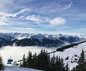 holidays, ski, and snow image
