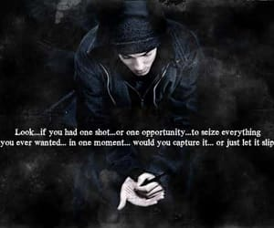 eminem, text, and Lyrics image