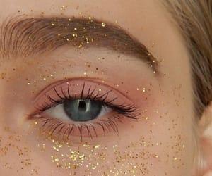 eyes, glitter, and beauty image
