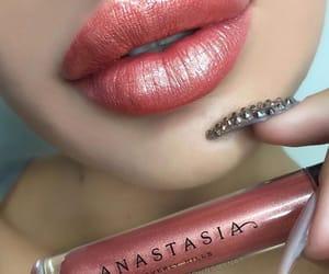 gloss, lips, and lipstick image