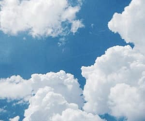 blue, cloud, and natural image