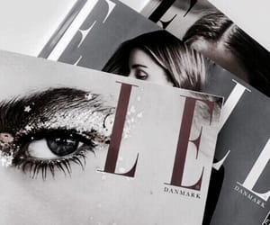 magazine, Elle, and fashion image