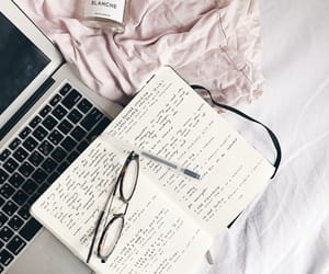 bed, notes, and cute image