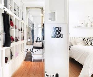 bedroom, closet, and fashion image
