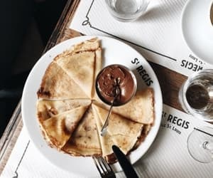food, crepes, and breakfast image