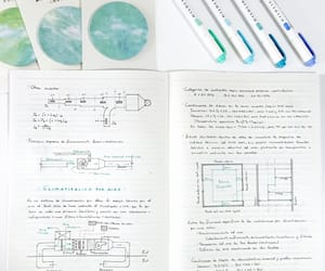 notes, pens, and study image