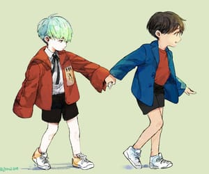 run, yoongi, and bts image
