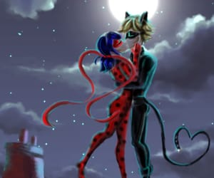 anime, cartoon, and Chat Noir image