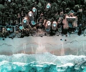 beach, coast, and sea image