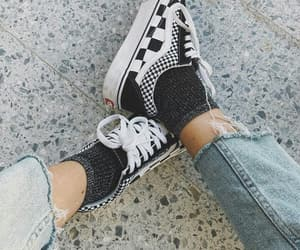 shoes, stile, and vans image