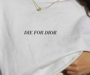 dior and white image