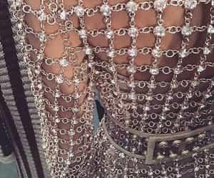 fashion, dress, and diamond image