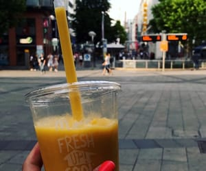 city, smoothie, and Sunny image