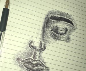 art, dark, and draw image