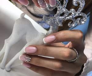nails, beautiful, and beauty image