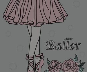 art, girl, and balet image