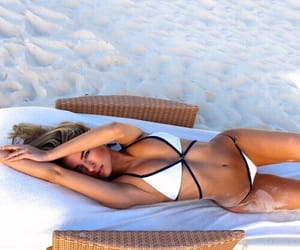 abs, beach, and bikini image
