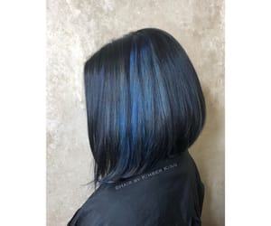 bluehair, hair, and salonlife image
