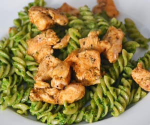 Chicken, pesto, and italian food image