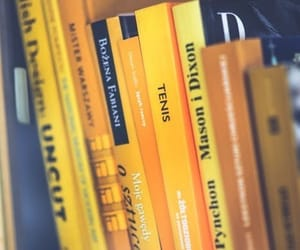 books and yellow image