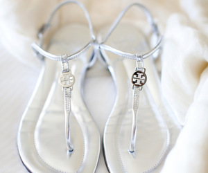 shoes, silver, and fashion image