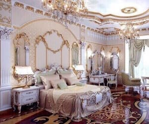bedroom, luxury, and rich image