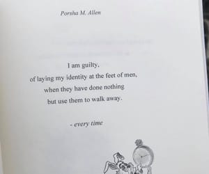 books, guilty, and identity image