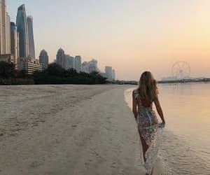dress, luxury, and beach image