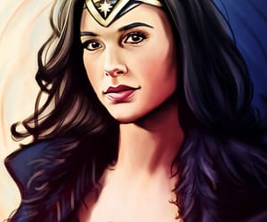dc comics, diana of themyscira, and wonder woman image