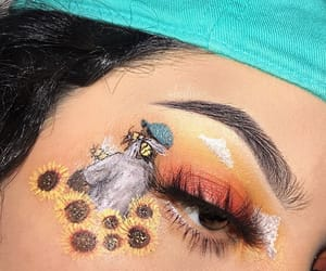 alternative, girl, and makeup image