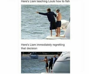 fishing, memes, and 1d image