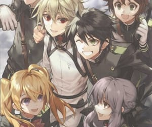 owari no seraph, anime, and seraph of the end image