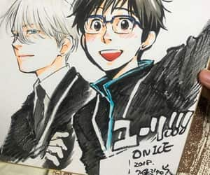 yoi, yuri on ice, and viktor nikiforov image