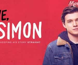 movie online, love simon, and hollywood movie image