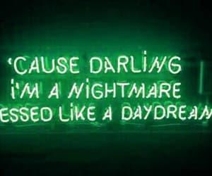 light, neon, and nightmare image