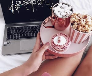 chocolate, cookie, and gossip girl image