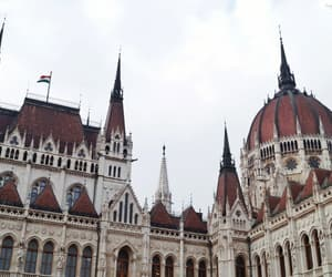 architecture, hungary, and travel image