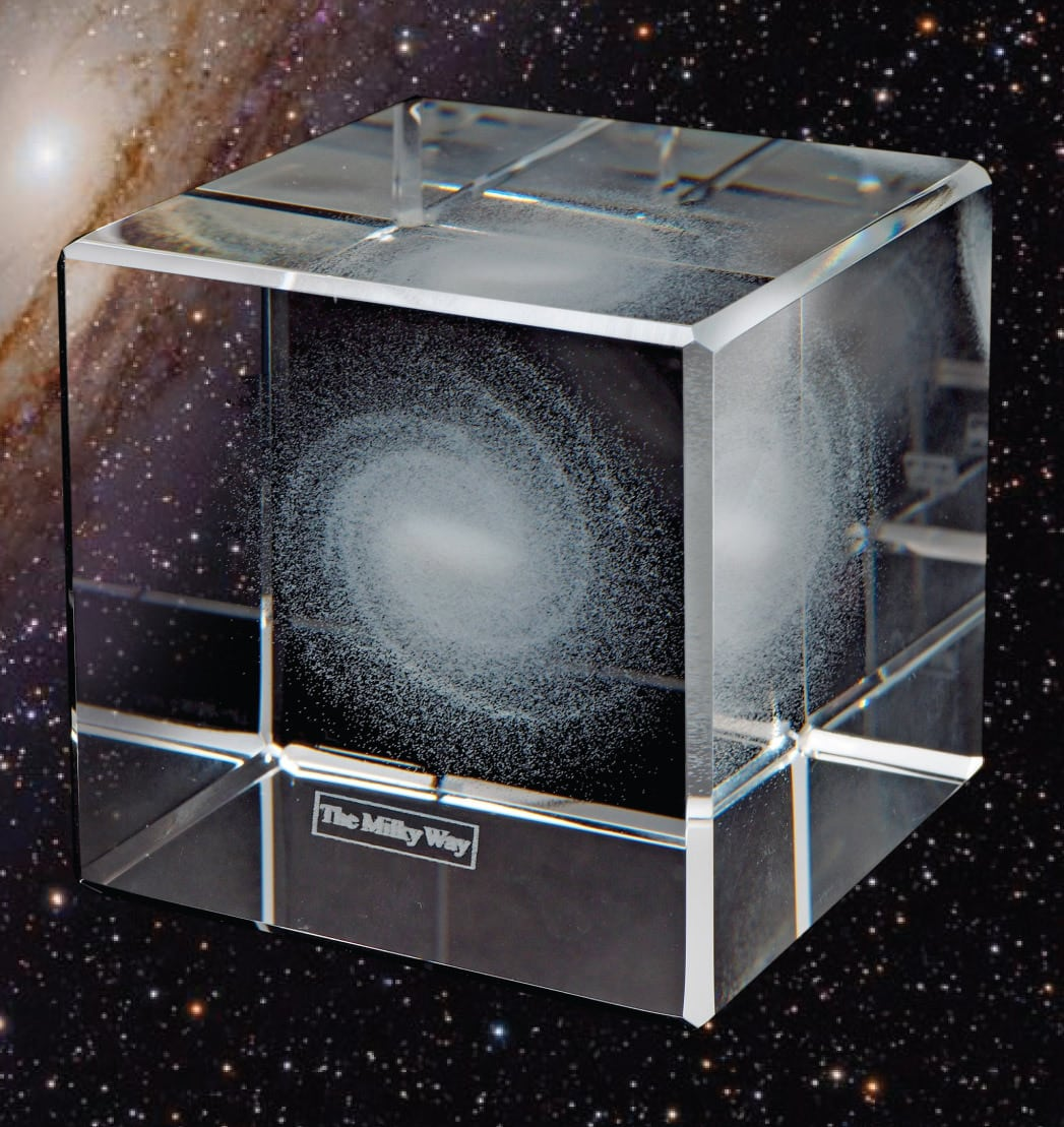 Using The Three Dimensional Map Of Our Galaxy This