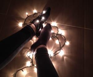 legs, lights, and socks image