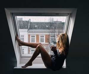 coffee, cozy, and window image