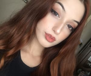 beauty, face, and ginger image