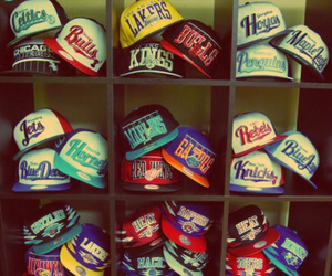 swag, cap, and lakers image