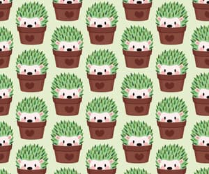 cactus, hedgehog, and animal image